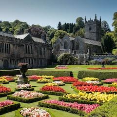 Gardens and Lanhydrock Church