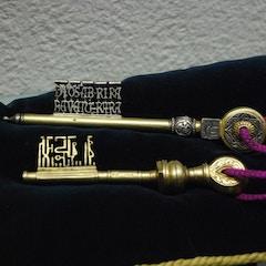 Elaborate Keys in Museo Sefardí