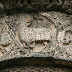 Lamb of God with Evangelists