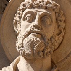 Portal Detail: Saint Peter