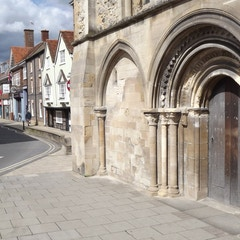 Abingdon - Norman Doorway