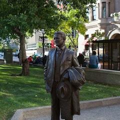 F. Scott Fitzgerald Statue