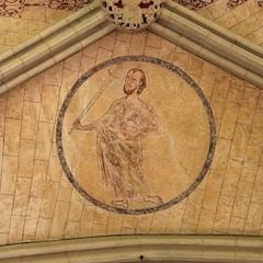 Chapter House Vault: Saint Paul