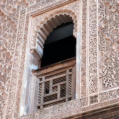 Upstairs Window  (Ben Youssef Medersa, Marrakesh, Morocco)
