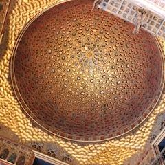 Cupola, Hall of Ambassadors, Alcazar, Sevilla, Spain