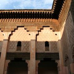 Courtyard (Ben Youssef Medersa, Marrakesh, Morocco)