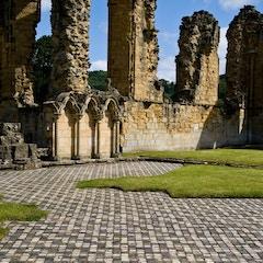 Yorkshire, Byland Abbey