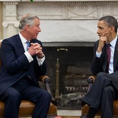 Prince Charles and President Obama