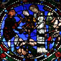 Life of Christ Window 14: Massacre of the Innocents