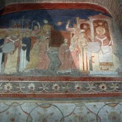 Fresco: Transfer of St. Clement's Relics (11C)
