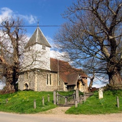 Church Next to Manor Farm: Stanford Dingley