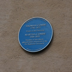 Blue Plaque, Cardigan Street
