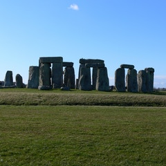Stonehenge with Ditch