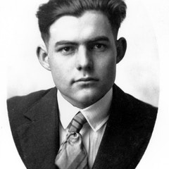 Portrait of a Young Hemingway (c. 1917)