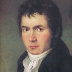 Beethoven Portrait (1804): Detail