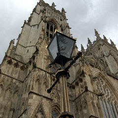 York Minster's NW Tower and Lamp