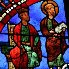Peter and Paul Window: Nero and Paul