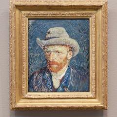 Zelfportret, Vincent van Gogh (1887-1888)