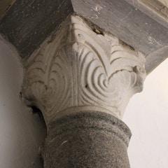 Capital detail, Alcazar, Sevilla, Spain
