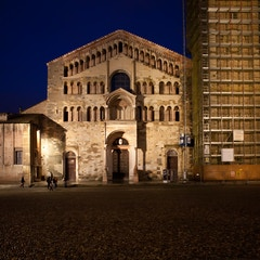 West Facade by Night