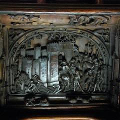 Lower Choir Stall Detail