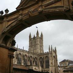 View through an Arch