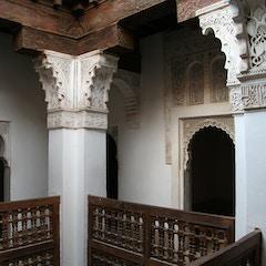 Student Rooms (Ben Youssef Medersa, Marrakesh, Morocco)