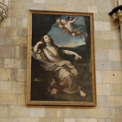 Painting in South Transept