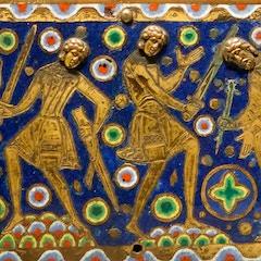 Becket Casket (c. 1180): Detail