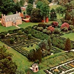 Gunston Hall from Air (Postcard)