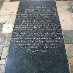 Grave of Jane Austen