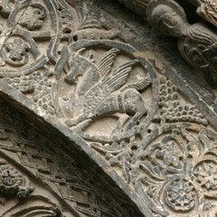 Portal Relief: St. Luke the Evangelist
