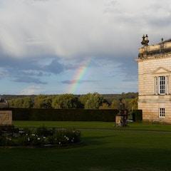 West Facade with Rainbow