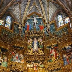 Capilla Mayor Altarpiece (1504): Top