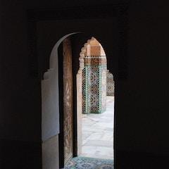 Doorway  (Ben Youssef Medersa, Marrakesh, Morocco)