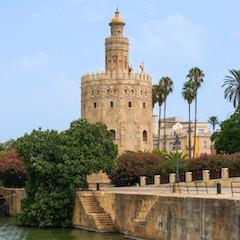 Torre del Oro Guadalquivir Seville Spain
