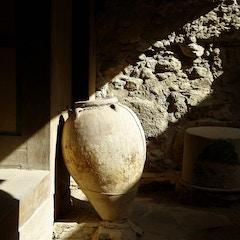 Lighted amphora