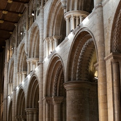 Selby Abbey: North Nave Arcade