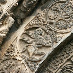 Portal Relief: St. Mark the Evangelist