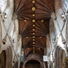 Selby Abbey: Choir Vault