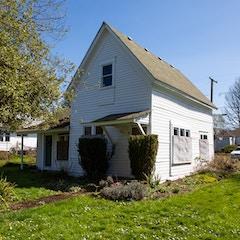 Hannah and Eliza Gorman House from Southwest (Corvallis, Oregon)