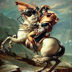 Napoleon Crossing the Alps