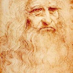 Self-Portrait of Leonardo da Vinci