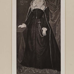 Portrait of Mary, Queen of Scots (1542-1587)