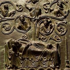 Bronze Door: Tree of Jesse