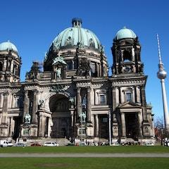 Berliner Dom with Fernsehturm