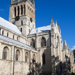 Selby Abbey: Crossing Tower and Transept