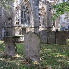 Old Graves in the church yard