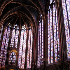 Upper chapel of Sainte Chapelle