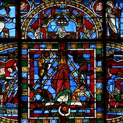 East Window: Martyrdom of Peter and Paul; Empty Tomb